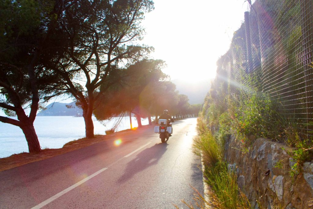 best motorcycle roadtrips in europe