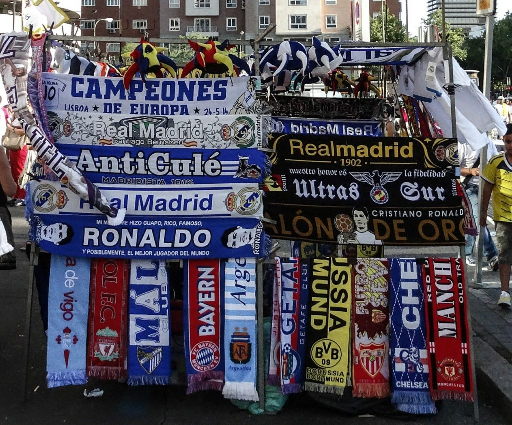most popular European soccer clubs