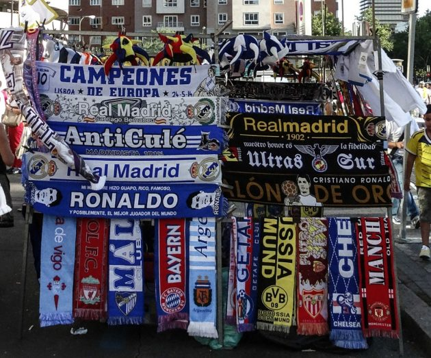 most popular European soccer clubs